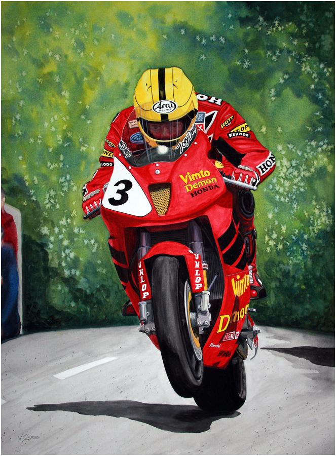 Victor Simpson Watercolour Artist Northern Ireland